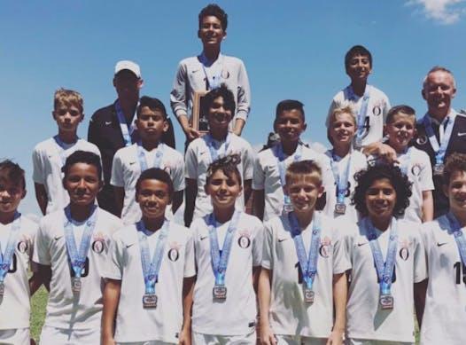 soccer fundraising - OEFC 04 Boys