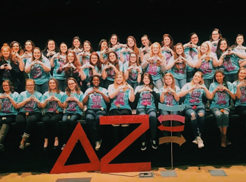 fraternities & sororities fundraising - Delta Zeta Millersville