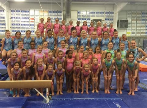 gymnastics fundraising - GTC - Buford