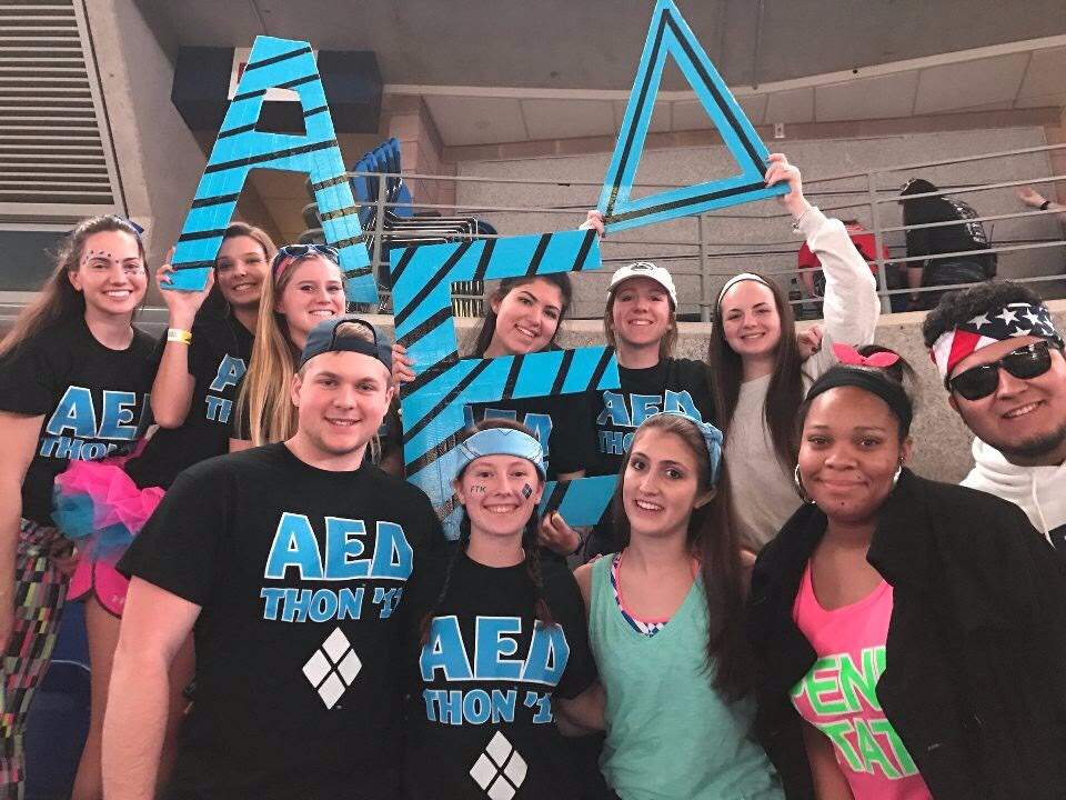 Alpha Epsilon Delta Benefitting THON