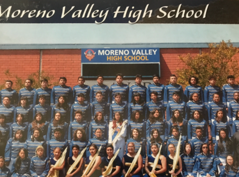 MORENO VALLEY ELITE MUSIC AND COLORGUARD BOOSTERS