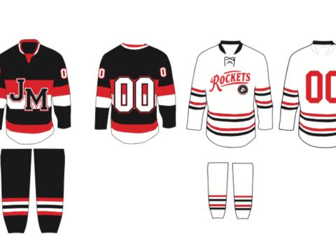 ice hockey fundraising - JM girls hockey