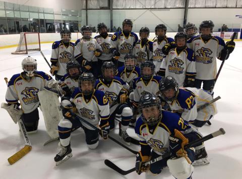 ice hockey fundraising - WMHA - PeeWee A White