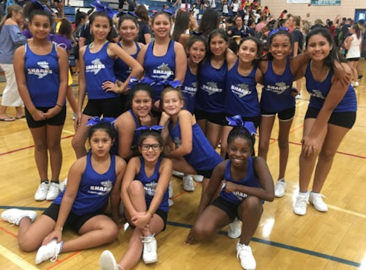 cheerleading fundraising - North Central Sharks Cheer