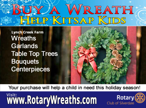 Silverdale Rotary Club - Raising money for Kitsap kids!