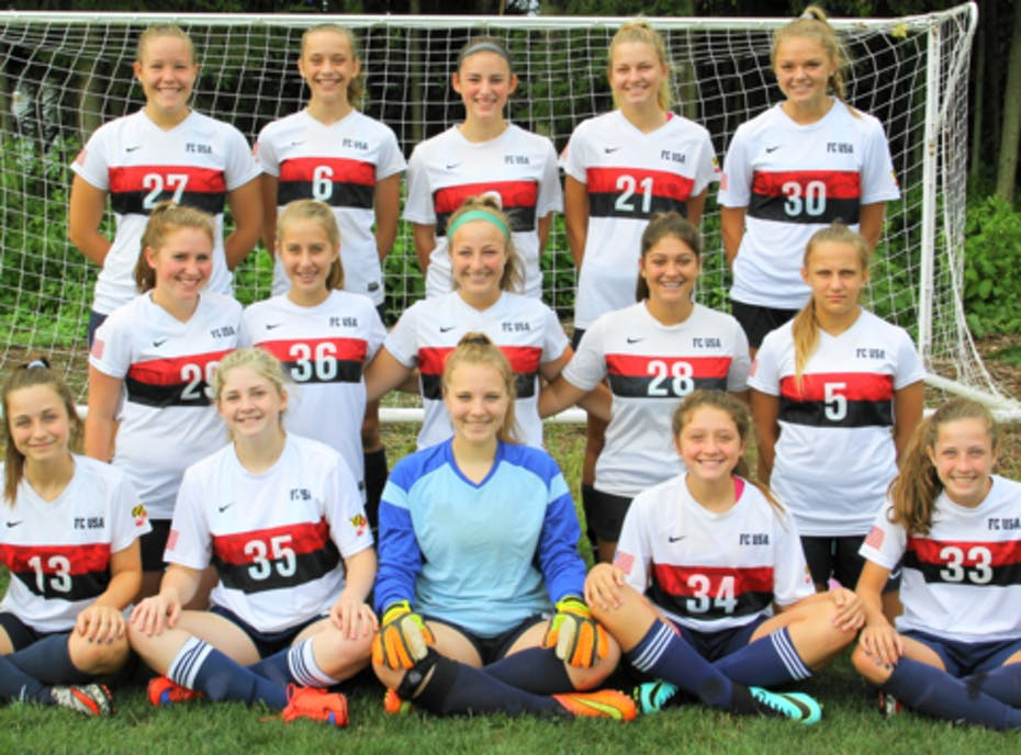 FC USA Girls 2002 Blue - Maryland