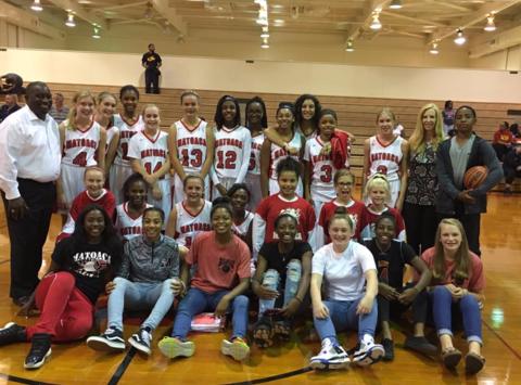 basketball fundraising - Matoaca Middle School Lady Warriors Basketball