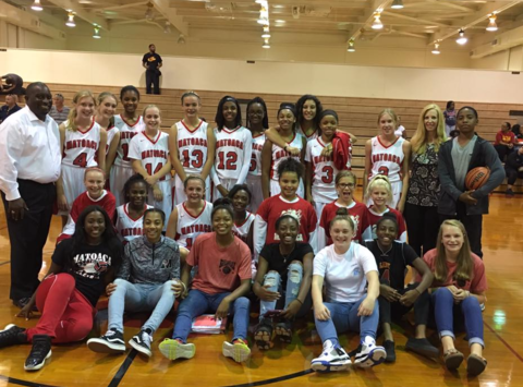 Matoaca Middle School Lady Warriors Basketball
