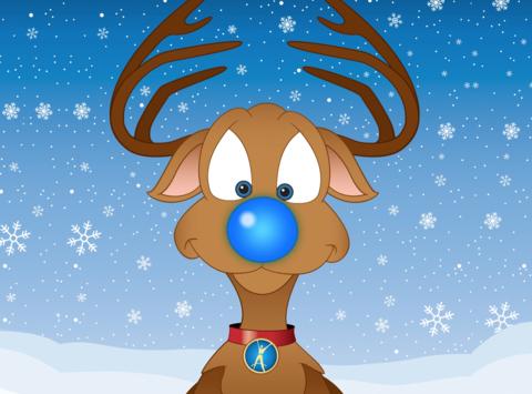 Rudolph The Cure Arthritis Reindeer