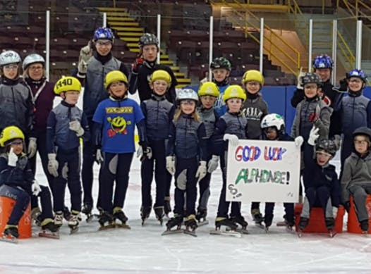 speed skating fundraising - St. Lawrence Speed Skating Club