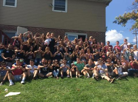 dance-a-thon fundraising - Sigma Kappa and Zeta Psi Benefiting THON