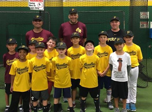 baseball fundraising - CNLL Fall AA Pirates