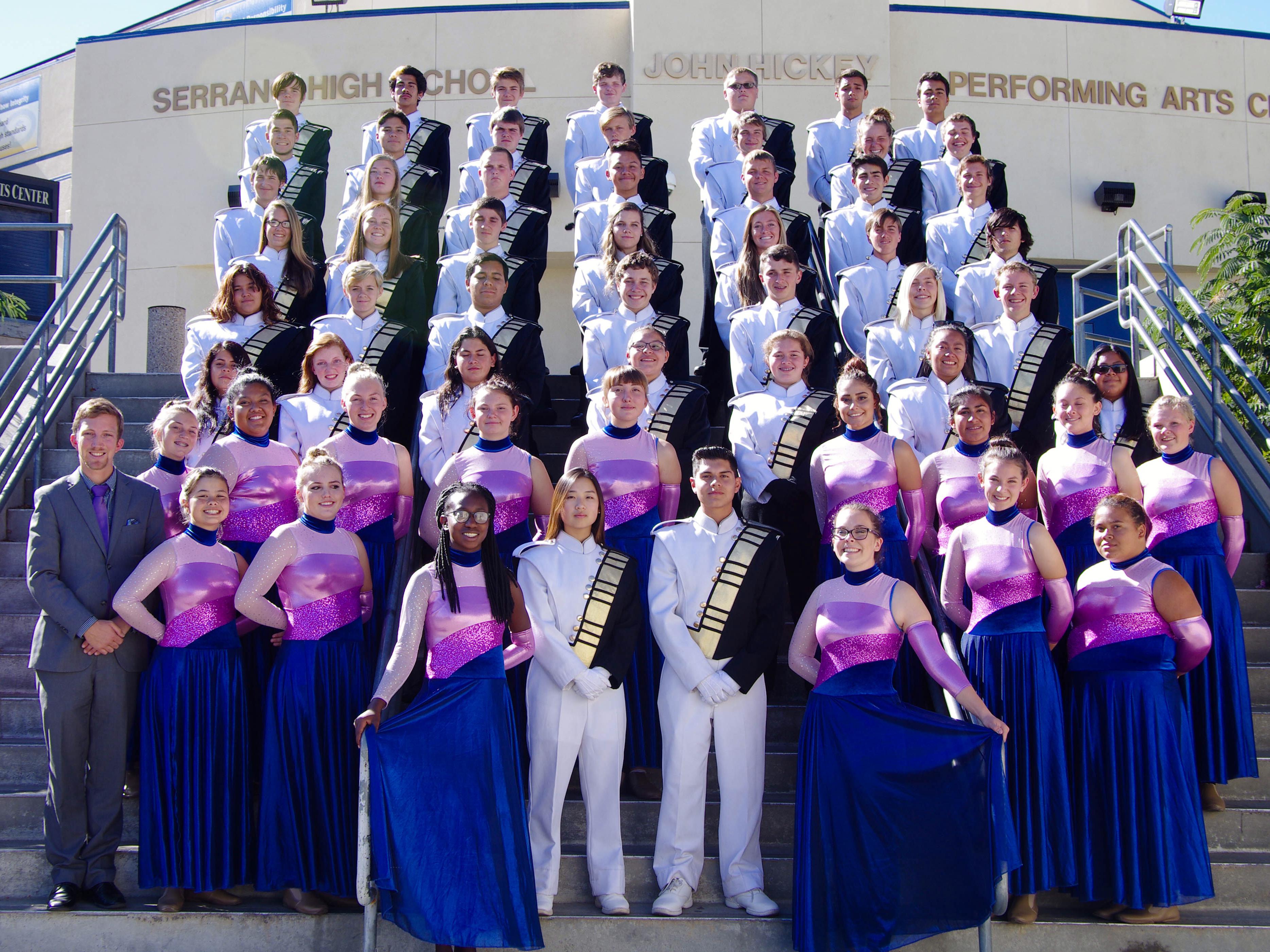 Serrano Marching Band