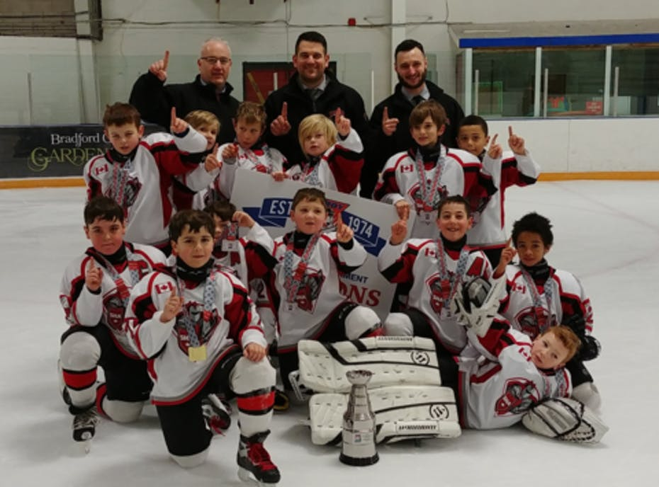 Scarborough Ice Raiders 2012 Red