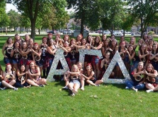 fraternities & sororities fundraising - Alpha Gamma Delta