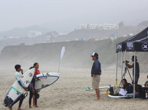 surfing fundraising - Mexico Junior National Surf Team