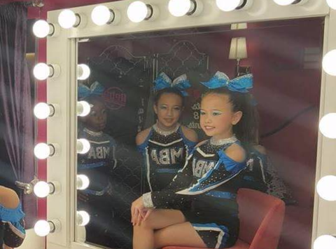 cheerleading fundraising - Myrtle Beach All Stars - Alyssa Chan