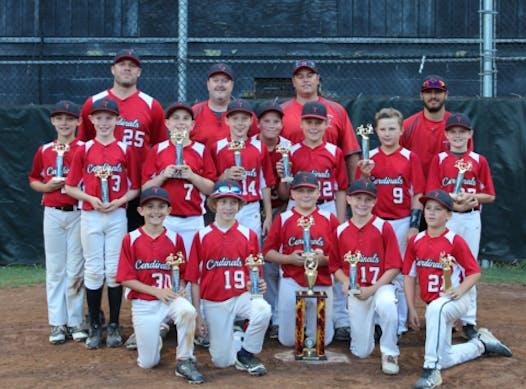 baseball fundraising - Wallingford 12U Cardinals Cooperstown 2018
