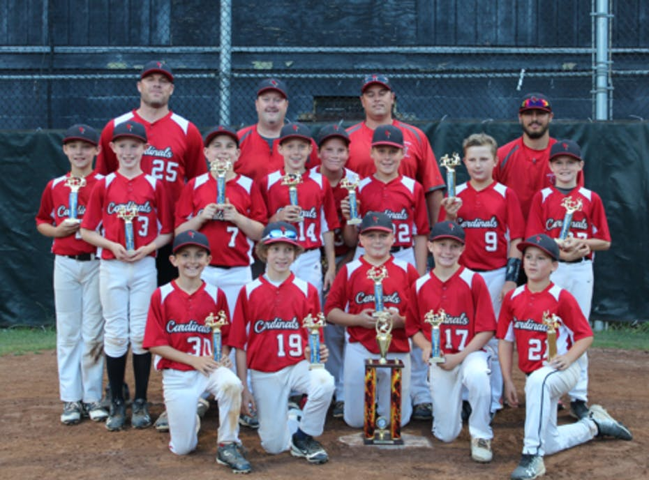 Wallingford 12U Cardinals Cooperstown 2018