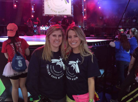 dance-a-thon fundraising - Taylor & Paige Benefitting THON
