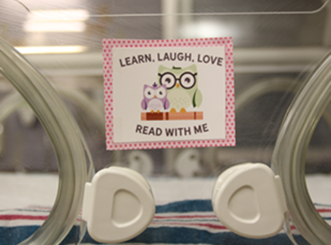 Learn, Laugh, Love and Read with Me Program