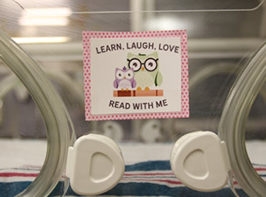 medical & healthcare fundraising - Learn, Laugh, Love and Read with Me Program