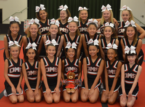 Dartmouth Middle School Cheer 2017