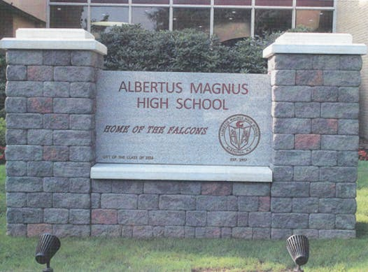 school improvement projects fundraising - Albertus Magnus High School 2017-18