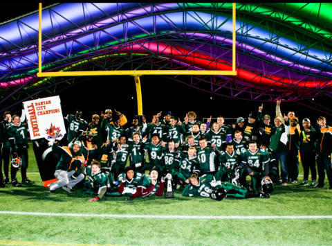 football fundraising - The Fort McMurray Knights Minor Football Association