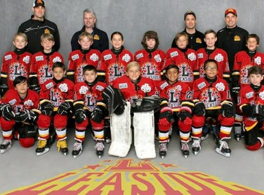 ice hockey fundraising - Leaside Flames Atom A