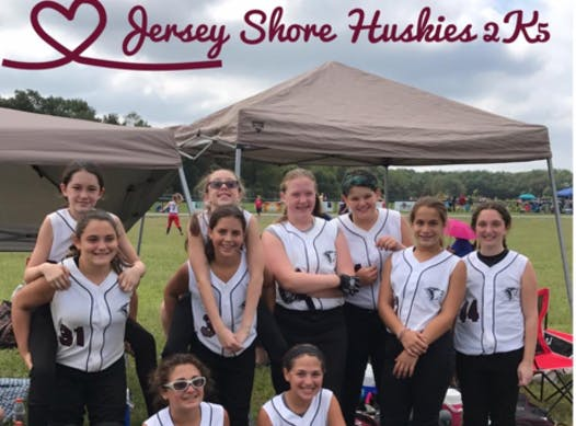 softball fundraising - Jersey Shore Huskies 2K5