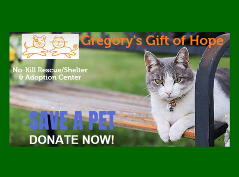 animals & pets fundraising - Gregory's Gift of Hope
