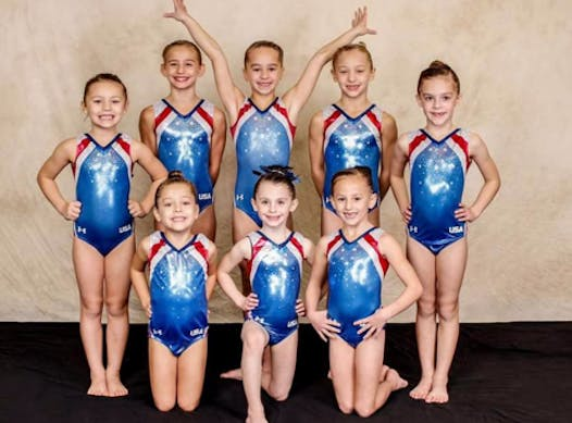 gymnastics fundraising - The Victors TOPs and HOPEs team