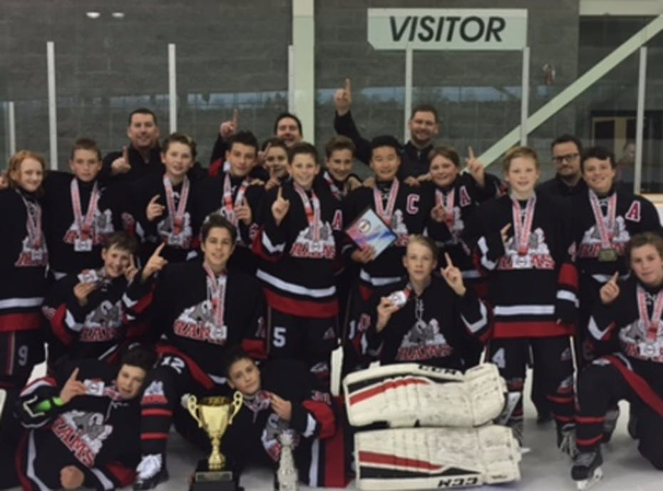Minor Bantam Stittsville Rams