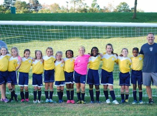 soccer fundraising - 2008 Girls Catonsville Cobras