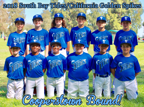 California Golden Spikes 2018