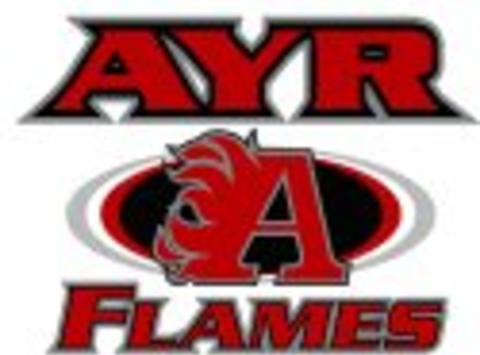 ice hockey fundraising - Ayr Flames Atom Rep