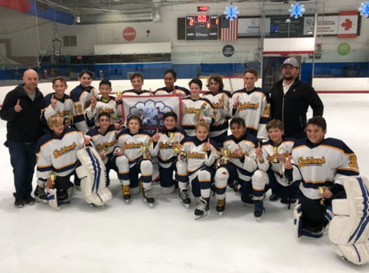 ice hockey fundraising - Goldrush PeeWee A