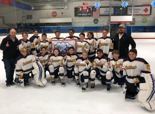 ice hockey fundraising - Goldrush PeeWee A
