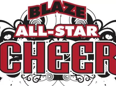 Blaze Cheer 2017
