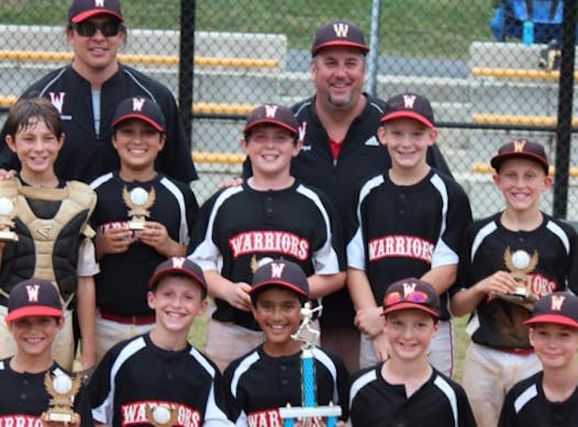 baseball fundraising - Reston Warriors 12U Red