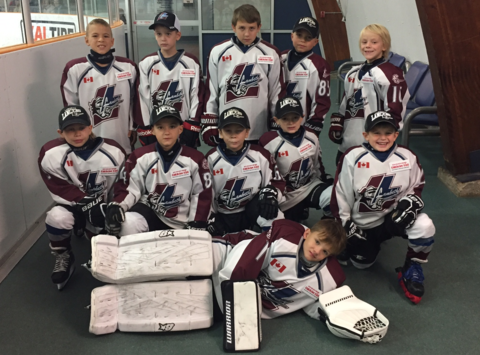 ice hockey fundraising - Lambeth Lancers, Novice AE