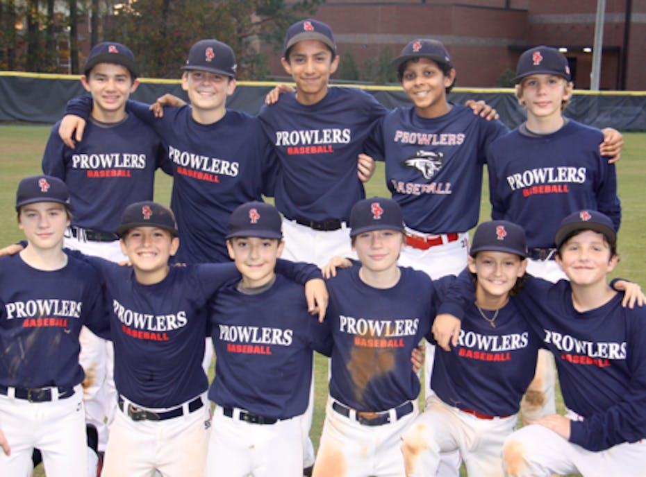 Sandy Plains Prowlers 12U Cooperstown Team