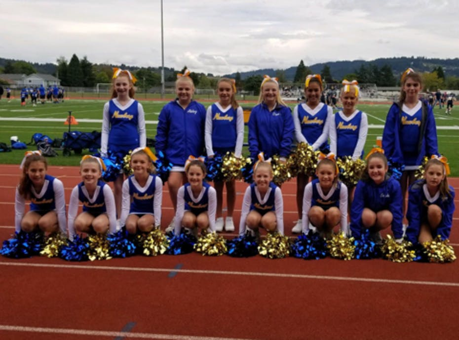 Newberg Youth Cheer