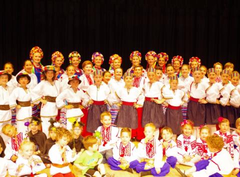 dance fundraising - DESNA School of Ukrainian Dance