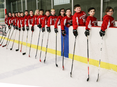 ice hockey fundraising - Fulton Youth Hockey Squirts Team