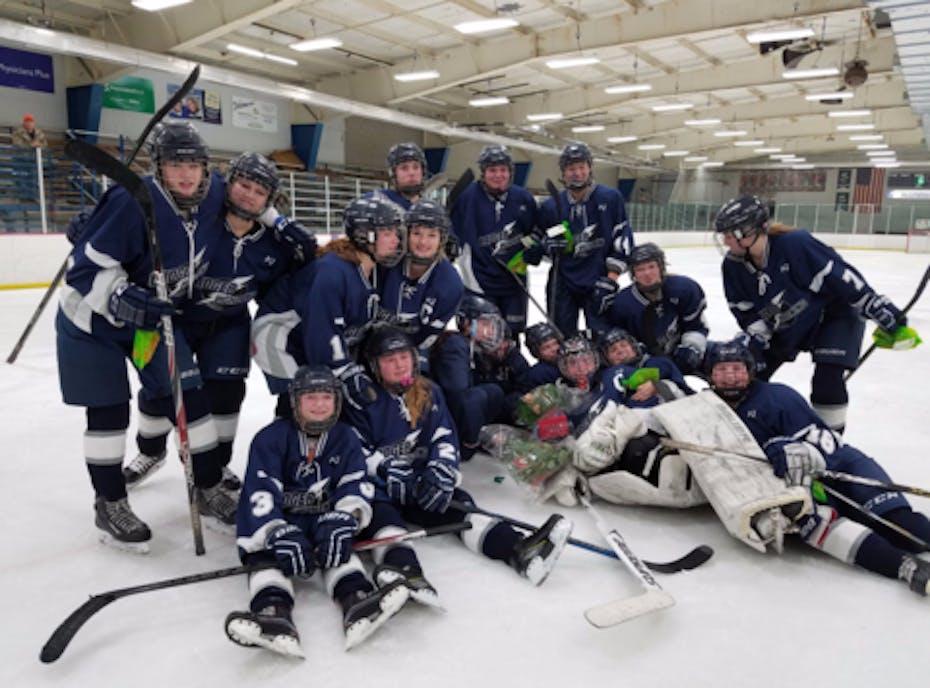 Badger Lightening Girls High School Hockey Team