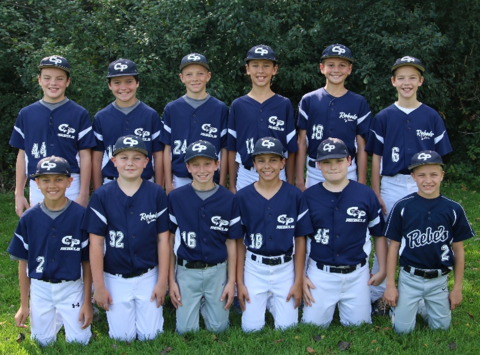 baseball fundraising - 2018 Cooperstown Rebels