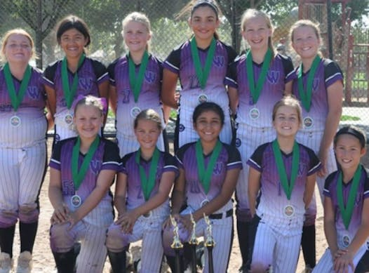 softball fundraising - West Coast Premier 12U-Adams