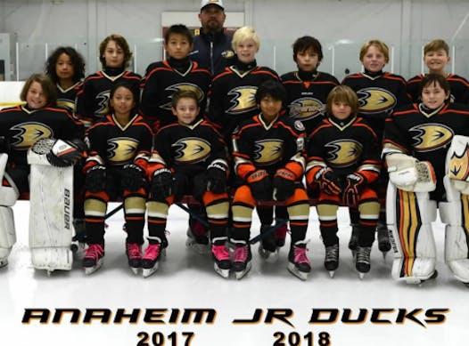ice hockey fundraising - Jr Ducks Squirt A2